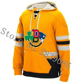New Designs Winter New England/Boston Hoodies Custom Red Sox/Celtics/Bruins And Patriots Team Player Any Name/Number Sweatshirts