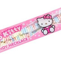 Hello Kitty Edible Candy Necklace, 1.23-Ounce Packages (Pack of 12)