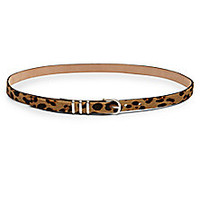 Rag & Bone - Leopard-Print Calf Hair Belt - Saks Fifth Avenue Mobile