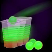Island Dogs Glow Pong Set