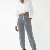 Urban Renewal Remnants Railroad Stripe Trouser Pant | Urban Outfitters