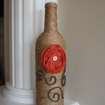 Vase,Rustic Vase, Rustic Centerpiece, Wedding Centerpiece, Home Decor, Home Accents, Rustic Wedding, Wedding, Centerpiece, Gift