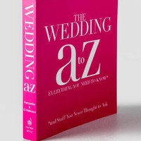 The Wedding A To Z Book