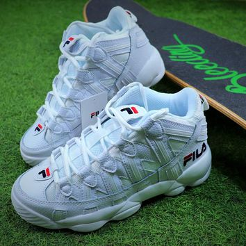 2017 FILA FILE Spaghetti Retro W White Sport Running Shoes - Best Online Sale