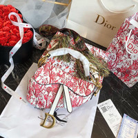 DIOR Saddle Hortensia Saddle Bag