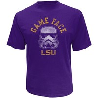 Star Wars College LSU Tigers Stormtrooper Game Face Tee - Men