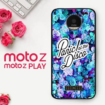 Panic At The Disco Flower X4351  Motorola Moto Z Play Case