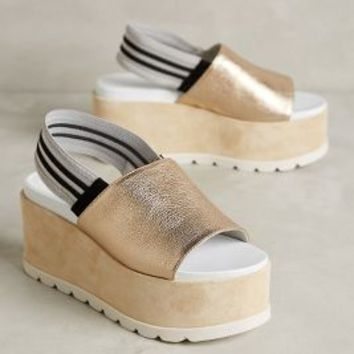 Jeannot Rex Flatforms Gold