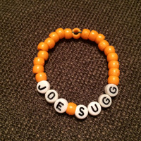 Joe Sugg YouTuber ThatcherJoe beaded bracelet