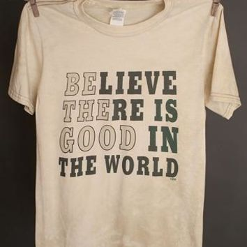 "Gina ""Believe There Is Good"" Tee"