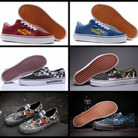 Star Wars X Brand Authentic Old Skool vans Low Cut Canvas Shoes Women And Mens Classic Retro Sneakers Skateboarding Shoes