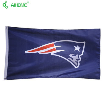 3X5FT New England Patriots USA Premium Team Football Flag Banner Sports Organization Banners American Sports Flag 150*90cm