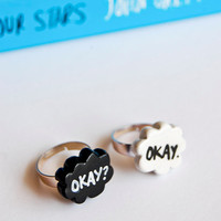 Okay. Okay. TFiOS Inspired Rings