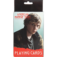 American Horror Story Evan Peters Playing Cards