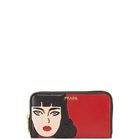 Nappa Wallet, Red (Fuoco)