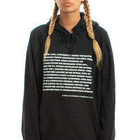 Knowledge Drop: The War on Drugs Hoodie