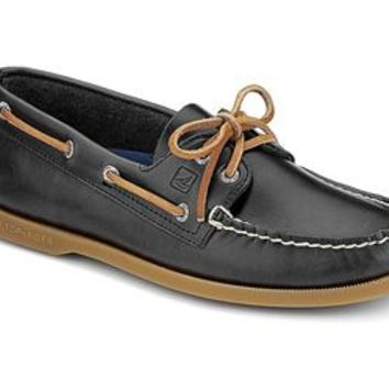 Sperry Top-Sider Authentic Original 2 Eye Cyclone Grey Boat Shoe for Men STS10034
