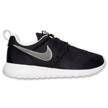 SALE!!  Blinged Black / White Preschool Girls' Nike Roshe Run