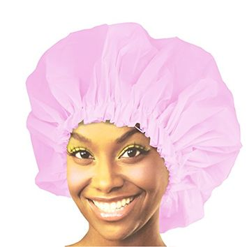 Donna Premium Collection Super Jumbo Shower Cap Pink 22163