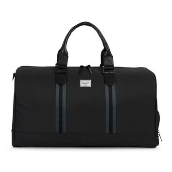 HERSCHEL SUPPLY CO. STRIPED DUFFLE
