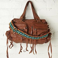 Free People Nightbird Leather Satchel