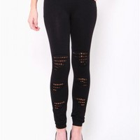 Seamless Slash Stud Leggings - JUST ARRIVED