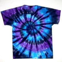 Child Size/ Tie Dye Shirt/ Moon Shadow Spiral