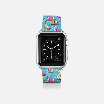 seagulls and sails Apple Watch Band (38mm)  by Sharon Turner | Casetify
