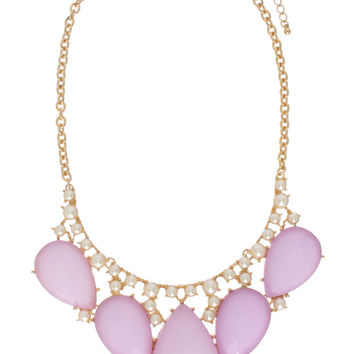 Lavender Blossoms Necklace - Default Title