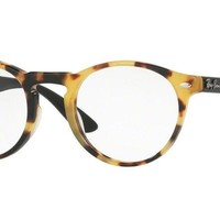 Ray-Ban RX5283 5608 49mm Yellow Havana Eyeglasses