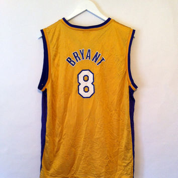 LAKERS KOBE BRYANT Nba #8 Jersey by Champion Size X Large