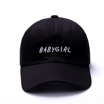 BABYGIRL - Dad Hat Black