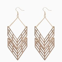 Cut Out Double Mobile Chevron Drop