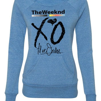1 xo the weekend ladies sweatshirt