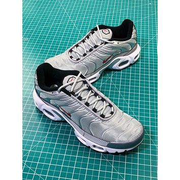 Nike Lab Air Max Plus Grey Silver Sport Shoes - Sale