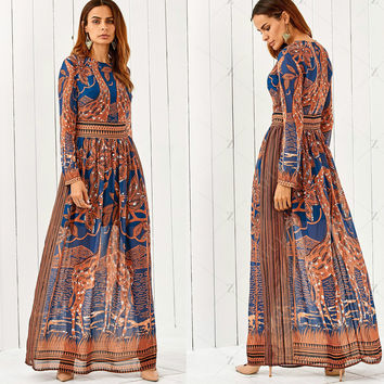 Best Boho Maxi Dress Patterns Products on Wanelo