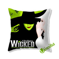 A New Musical Wicked Square Pillow Cover