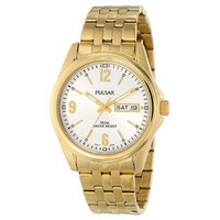 Pulsar Men's Analog Display Japanese Quartz Gold Watch
