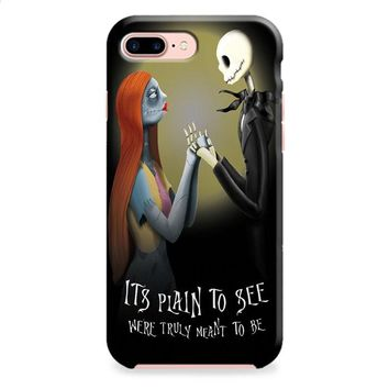 Nightmare Before Christmas (jack sally) iPhone 8 | iPhone 8 Plus Case