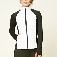 Active Colorblock Puffer Jacket