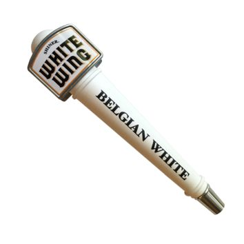 White Wing Pub Style Tap Handle