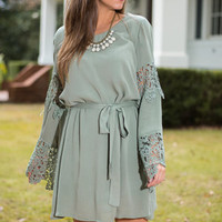 Delightful Dreams Dress, Sage