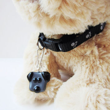 Dog collar charm, dog jewelry, dog accessory, dog present, gift for dog lover, dog leash accessory, pet jewelry, gift under 10, pet gift tag
