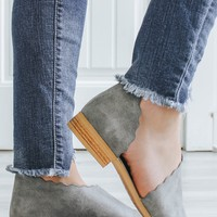 Zara Booties - Grey