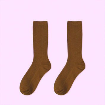 Essential Star Quality Socks - Brown