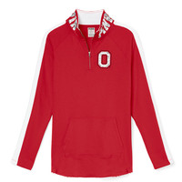 The Ohio State University Bling Half-Zip Tunic - PINK - Victoria's Secret