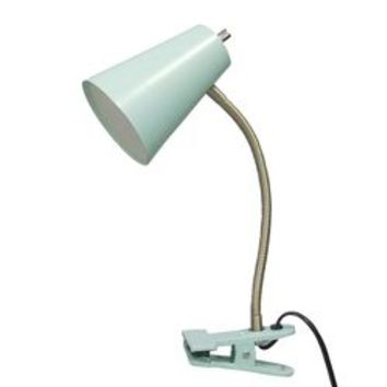 LED Clip Table Lamp Turquoise - Room Essentials™