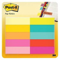 Post-It® Page Markers, 10ct - Multicolor