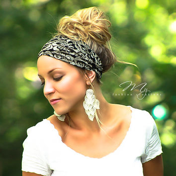 d2d8150d64c Shop Stretchy Lace Headbands on Wanelo