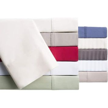 Brielle Egyptian Cotton 400 Thread Count Sateen Deep Pocket Sheet | Overstock.com Shopping - The Best Deals on Sheets